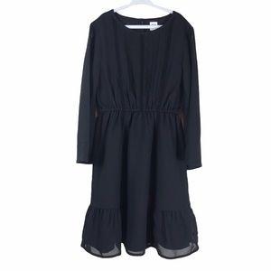 Gap Kids Chiffon Lace Pin Tuck Dress